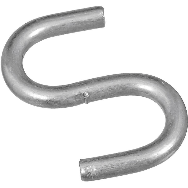 National 3/4 In. Zinc Heavy Open S Hook (8 Ct.) Image 1