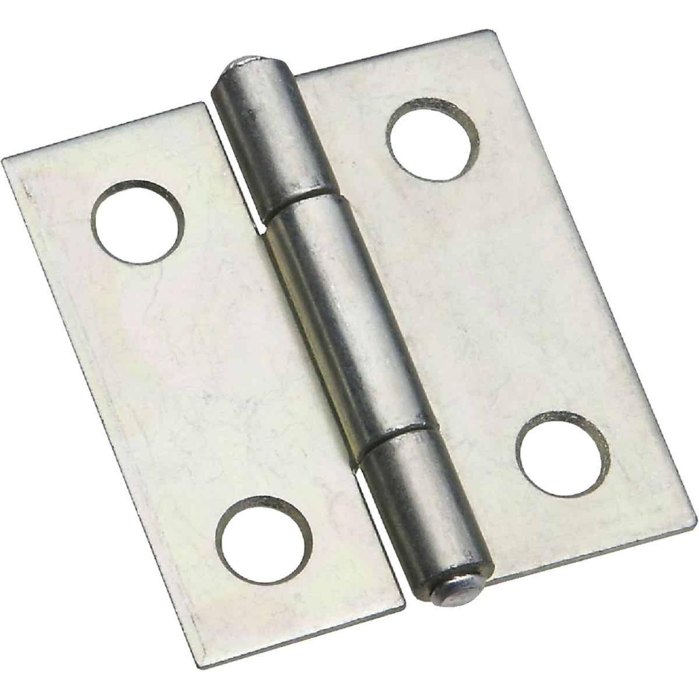 National 1-1/2 In. Zinc Tight-Pin Narrow Hinge (2-Pack) Image 1