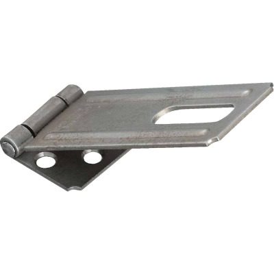 National 4-1/2 In. Galvanized Non-Swivel Safety Hasp