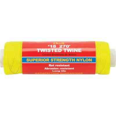 Do it #18 x 270 Ft. Yellow Nylon Twisted Twine