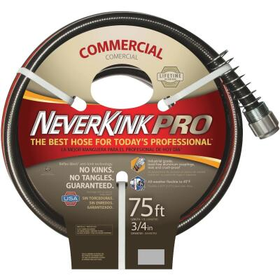 "NeverKink XP 3/4"" x 75' Farm & Ranch Hose"