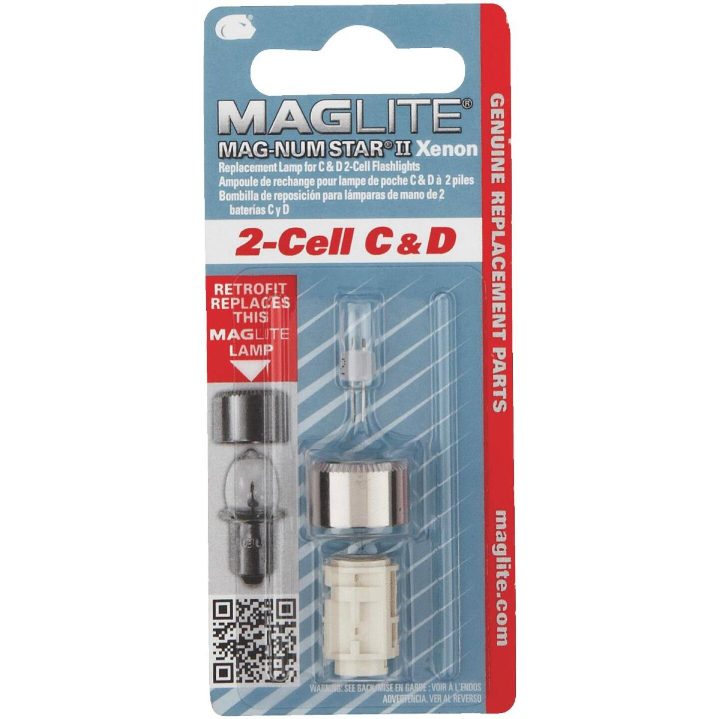 Maglite Xenon 3V Replacement Flashlight Bulb Image 1